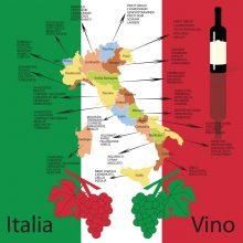 Talianske víno – malý sprievodca kde a čo degustovať