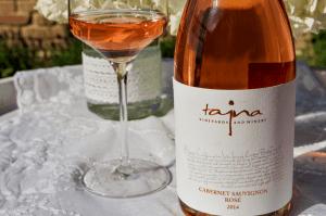 ružové víno Cabernet Sauvignon Rosé TAJNA