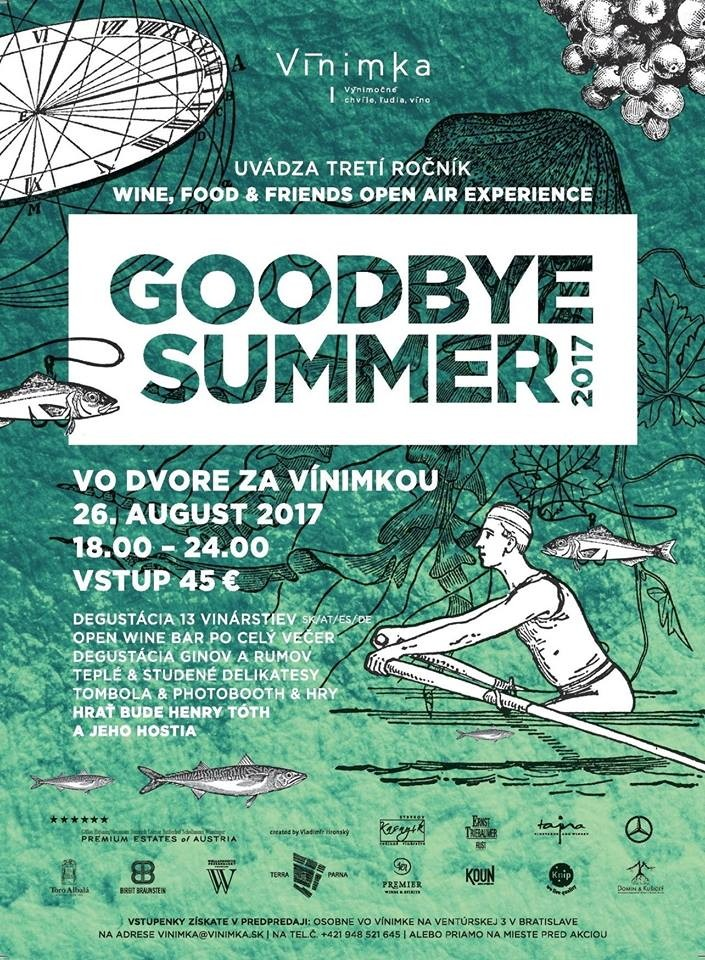 Goodbye Summer 2017 - VinoTajna