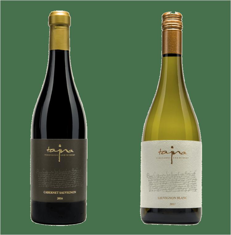 Caberenet Sauvignon a Sauvignon Blanc