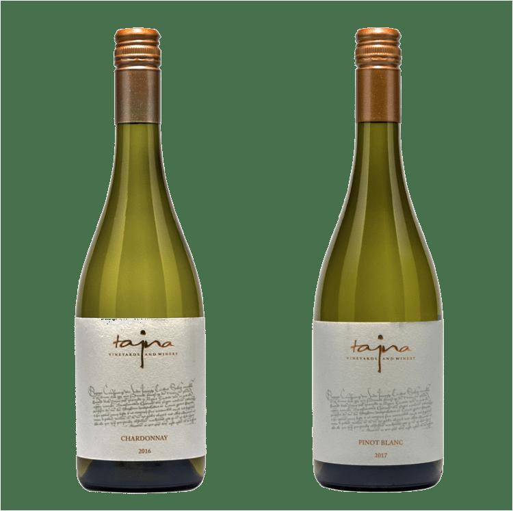 chardonay vino set