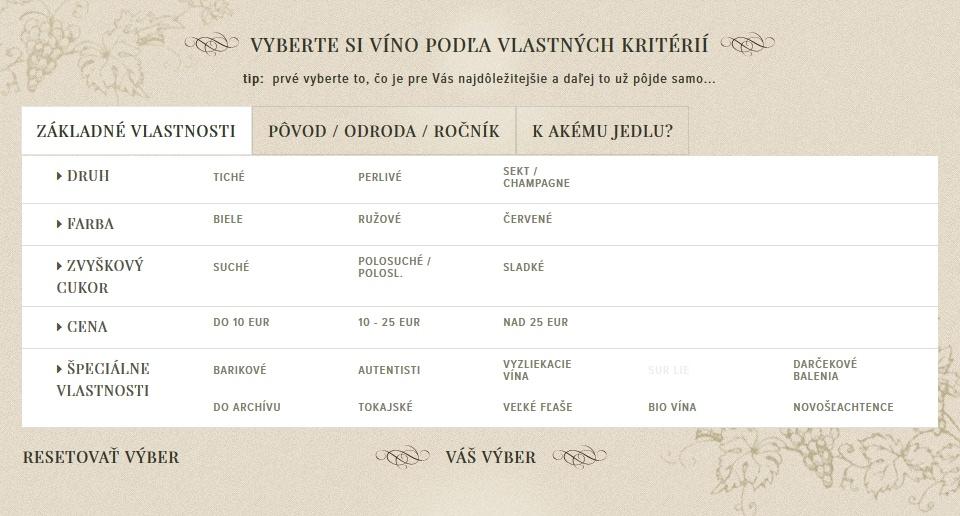vína Tajna Belvet