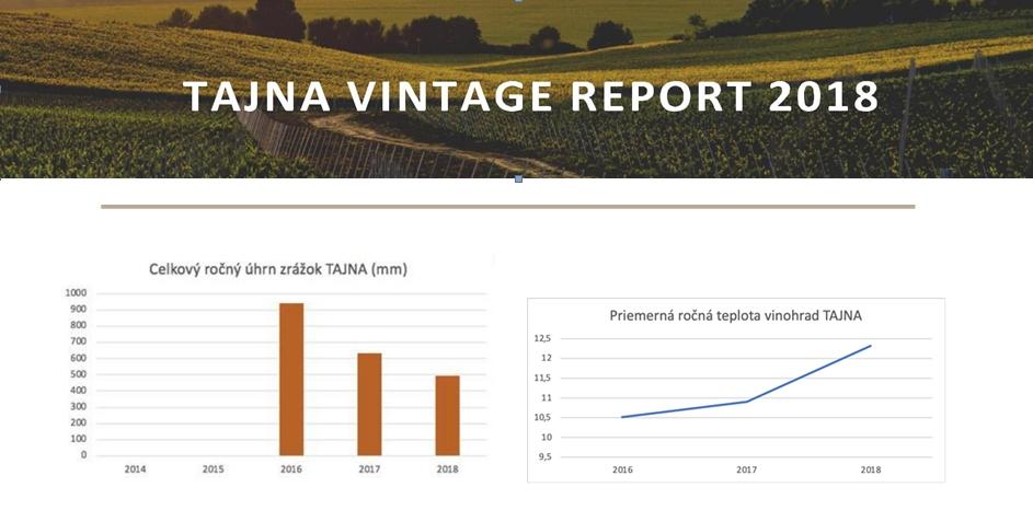 vintage report ročník 2018 Tajna