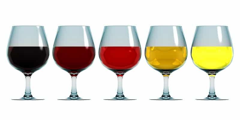 biele vina