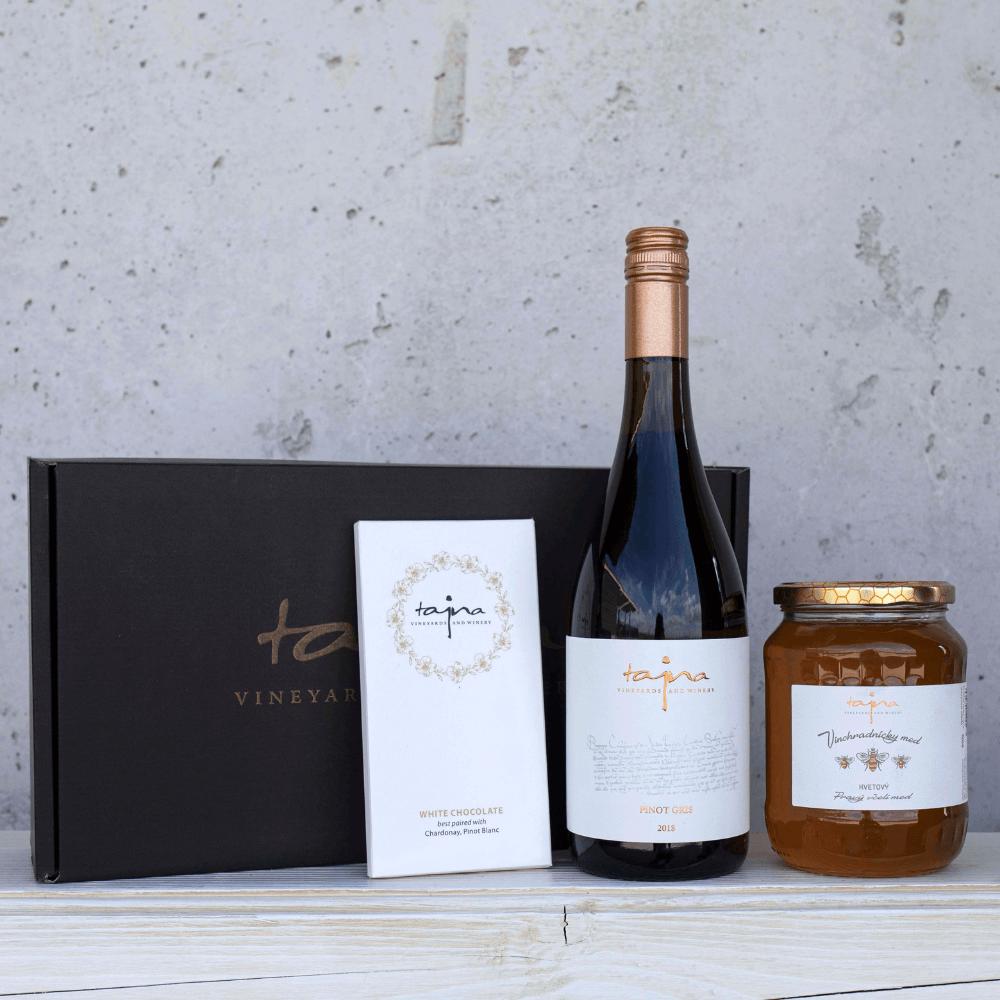 víno tajna darček