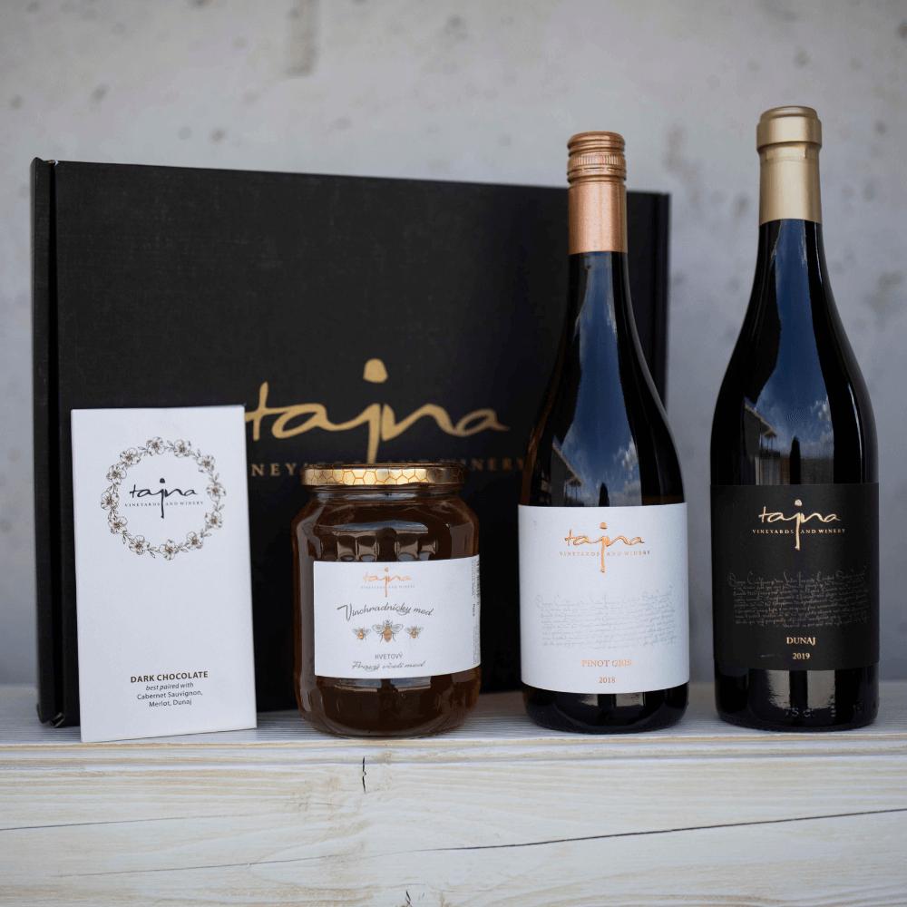 víno darček