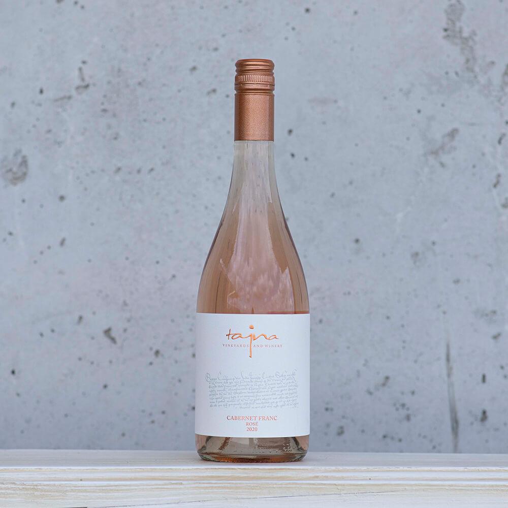 vino rose cabernet franc tajna