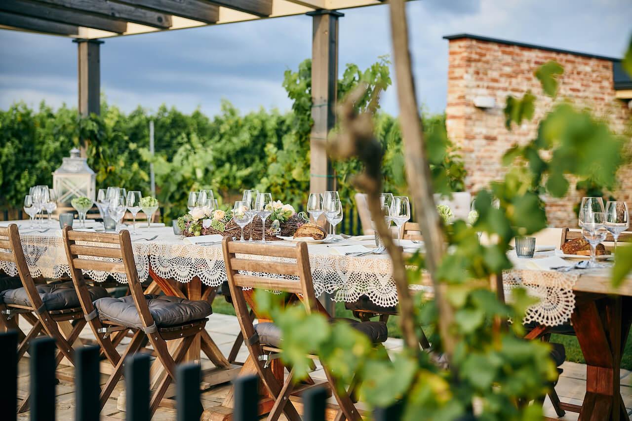 Firemné podujatia a večierky vo vinárstve Tajna