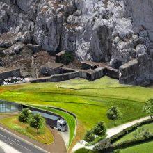 Vojenské tunely Gibraltáru sa premenia na obrovské vínne pivnice